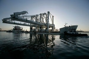 Crane BridgeShip 300x200 Air quality improvement at the Port of Long Beach: Yesterday, today and …