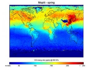 Carbon Monoxide concentrations in spring.1 300x225 Partnership to advance Asia Pacific region air cleanup underway