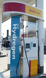 Hydrogen station pump1 Calif. air cleaner despite more people, more miles driven, more gas burned. The road ahead?