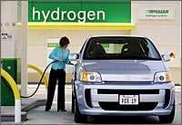 Hydrogen vehicle1 One for the road: New vehicle fuel, tailpipe emissions standards set despite opposition